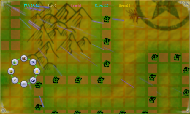 Game map and viewport
